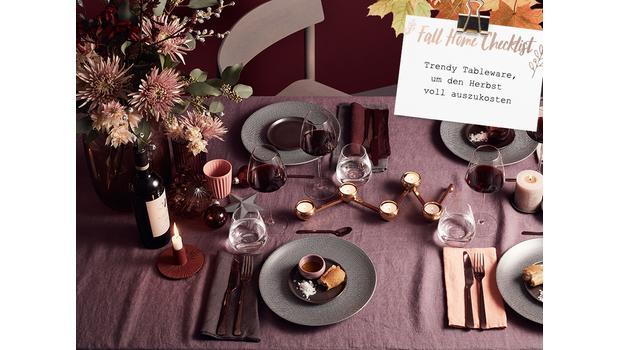 Herbst-Check: Tableware