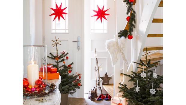 Weihnachtlicher Empfang