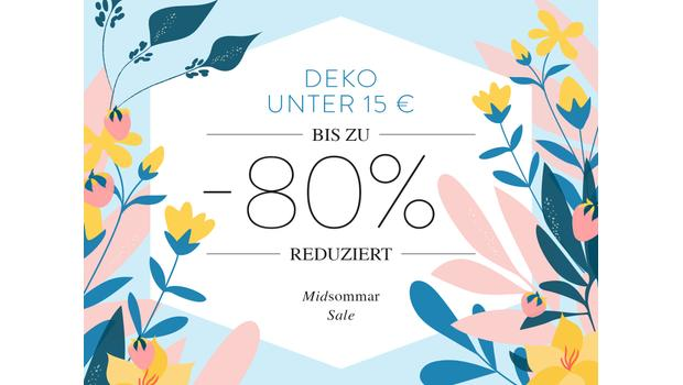 Deko unter 15 €