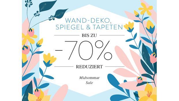 Wand-Deko, Spiegel & Tapeten