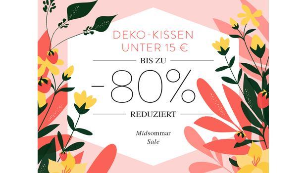 Deko-Kissen unter 15 €