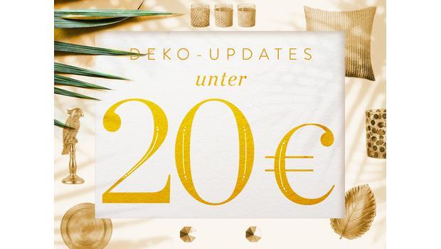 Deko-Updates unter 20 €
