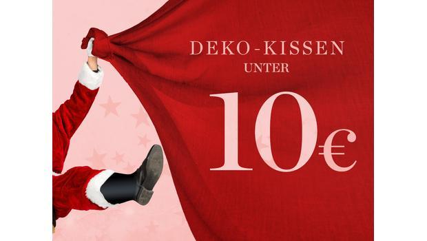 Deko-Kissen unter 10 €