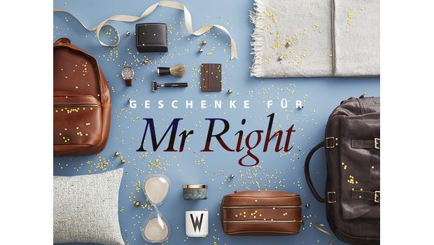 Geschenke für Mr Right
