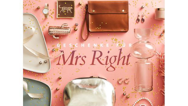 Geschenke für Mrs Right