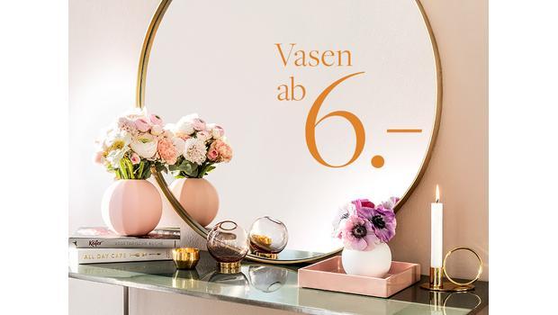 Die schönsten Vasen ab 6 €