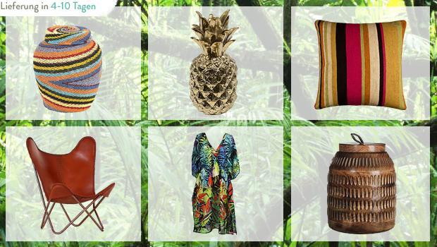 Dschungel per Express