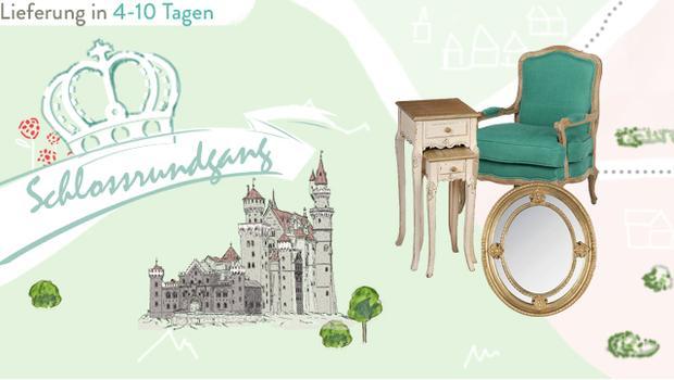 Zu Besuch im Märchenschloss