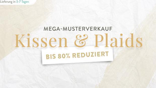 Kissen- & Plaid-Verkauf