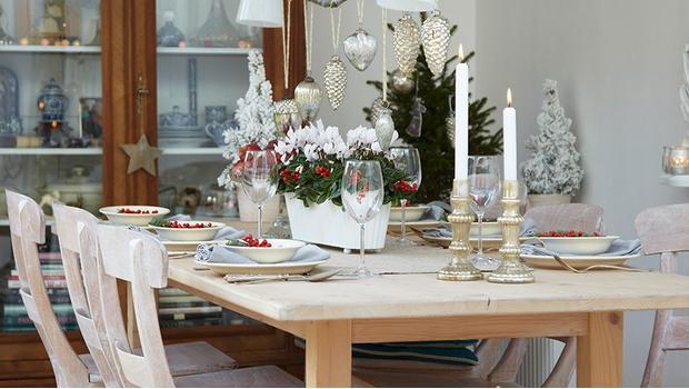 Weihnachtliche Tisch-Deko