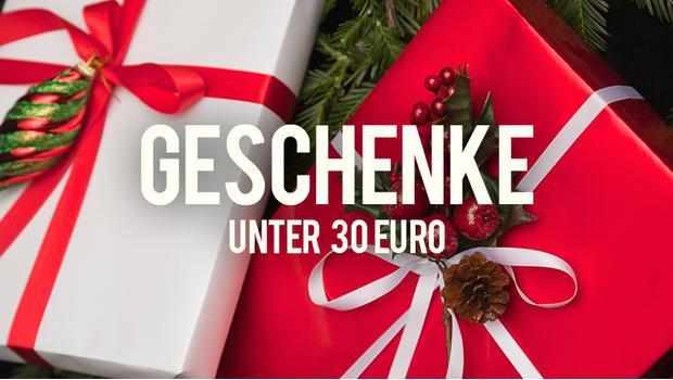 Geschenke unter 30 Euro