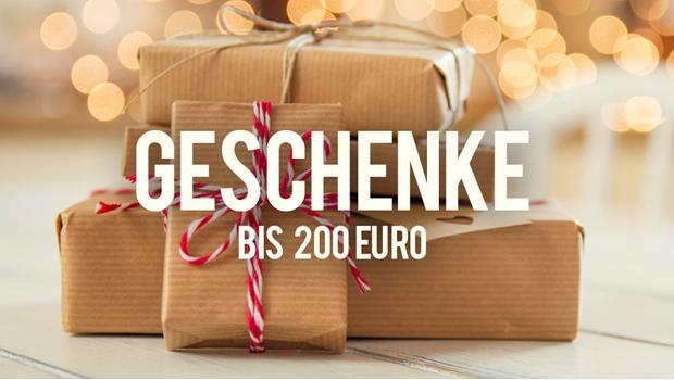 Geschenke bis 200 Euro