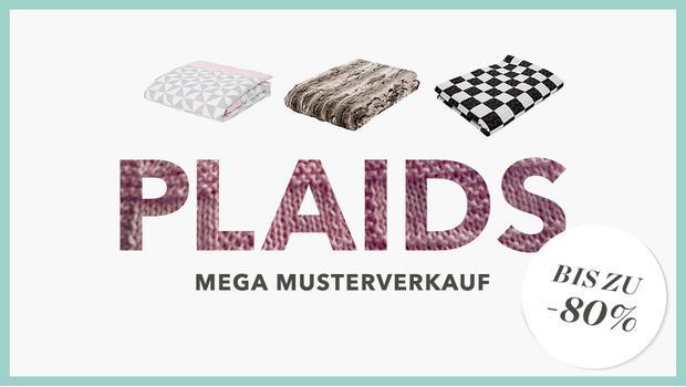 Plaids- & Tagesdecken-Sale