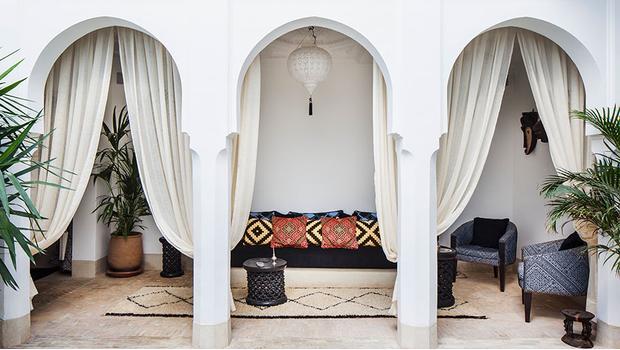 Ein Riad in Marrakesch