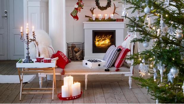 Das Christmas-Wohnzimmer