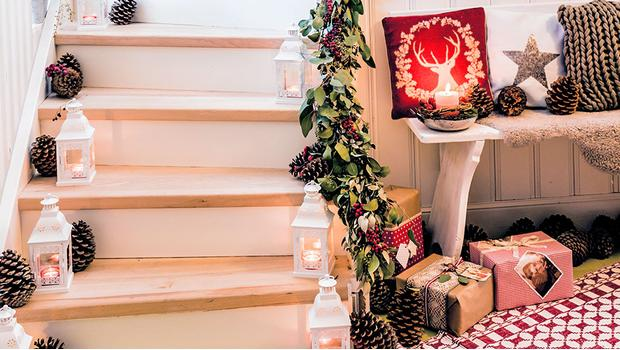 Ein weihnachtlicher Eingang