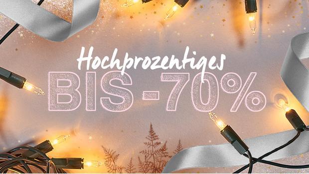 Festtags-Discounts deluxe
