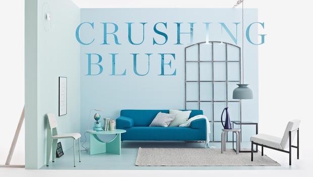 Blau ist wow