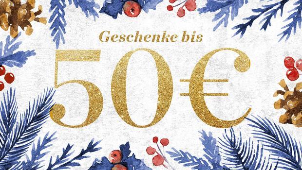 Geschenke bis 50 €