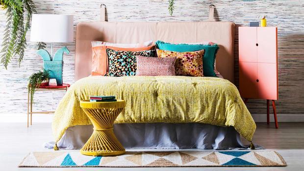 Mehr Farbe fürs Schlafzimmer Mit bunter Bettwäsche jetzt auffrischen ...
