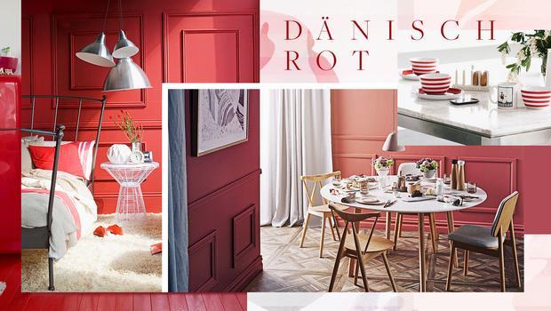 Farbfaszination Dänisch-Rot