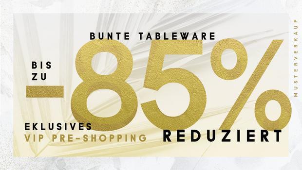 Bunte Tableware