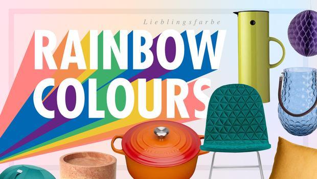 Lieblingsfarbe: Regenbogen