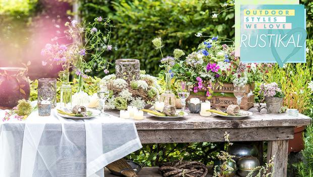 Traditionelle Garten-Styles