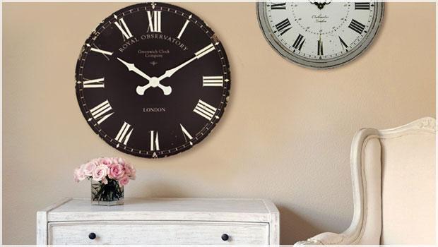 Vintage-Wand- & Tischuhren
