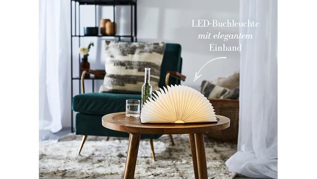 Deko-Trend: Buch-Leuchte