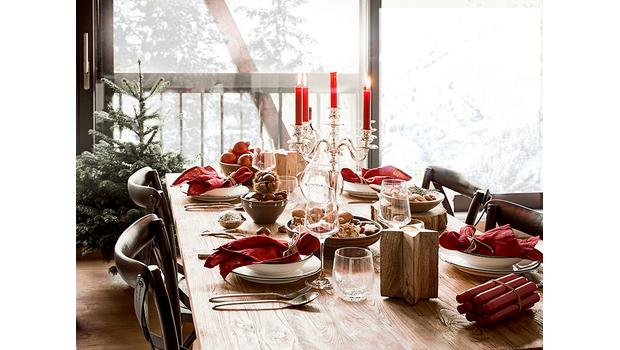 Dinner-Styling wie in Aspen