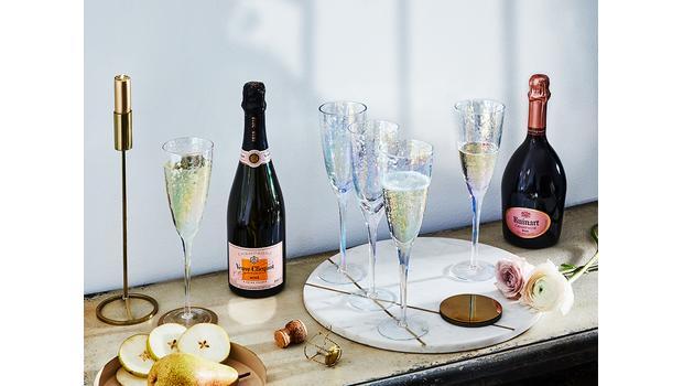 In Champagnerlaune