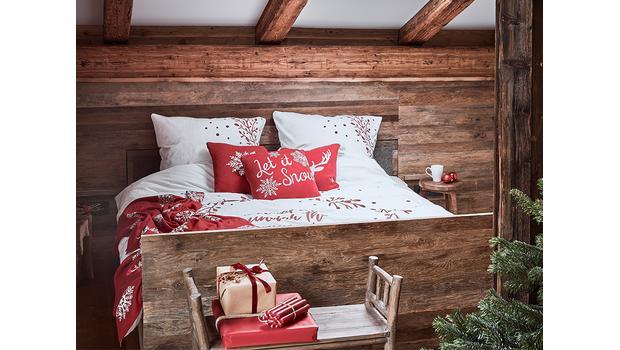 Weihnachtliche Bettwäsche Traumhaft schöne Xmas-Motive fürs ...