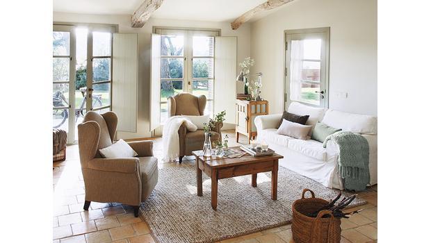Cottage-Flair fürs Wohnzimmer