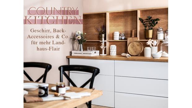 Country-Charme für die Küche