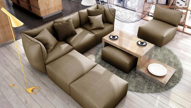 Das Sofa-System Cube