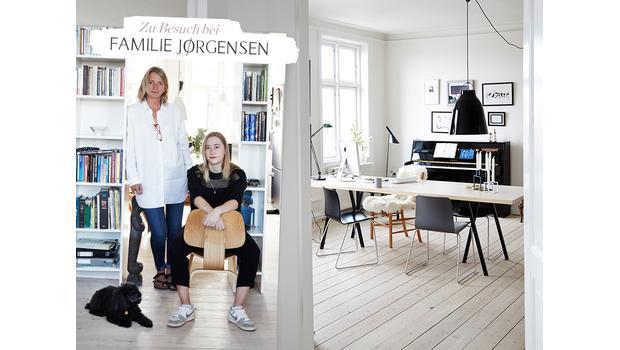 Familien-Zuhause in Kopenhagen
