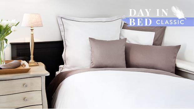 Klassische Bettwäsche