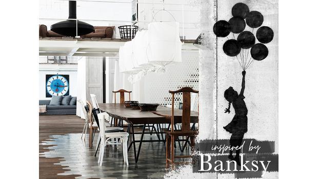 Inspiriert von Banksy