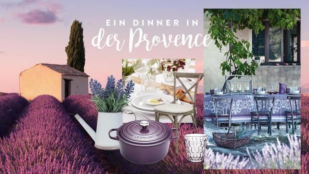 Ein Dinner à la Provence
