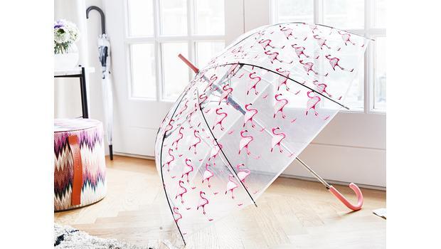 Regenschirme mit Durchblick