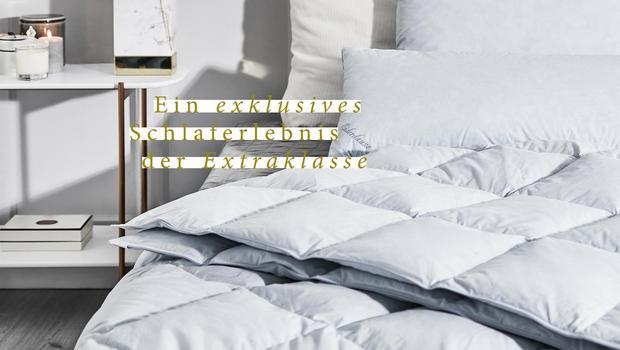 Edle Eiderdaunen-Bettwaren
