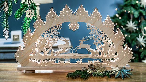 Fensterlicht Weihnachten.Weihnachten Wie Im Erzgebirge Filigrane Handwerkskunst