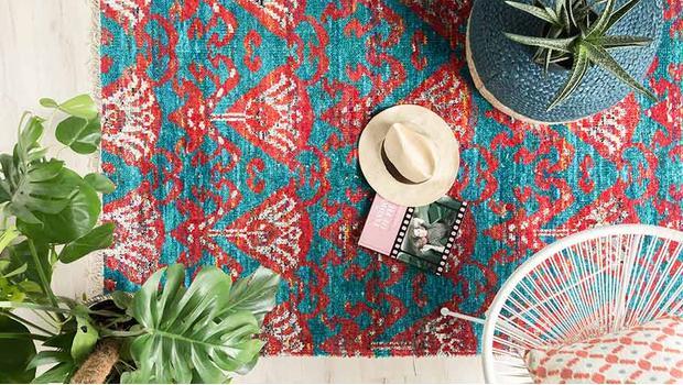 Teppiche im Ethno-Chic