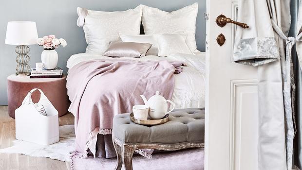 Luxuriöse Home-Textilien