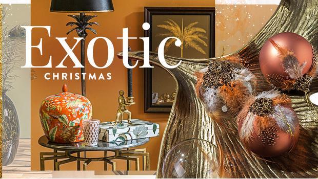 Exotische Weihnachten