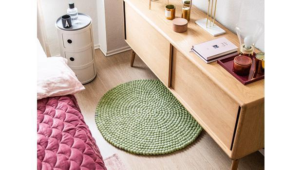 Formvollendete Teppiche