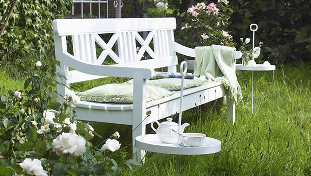 Den Garten genießen