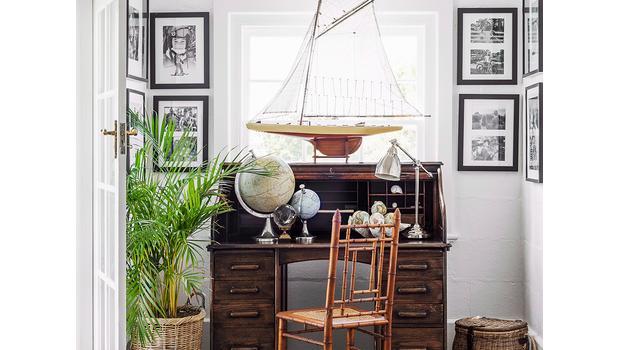 Home-Office im Gentleman-Stil