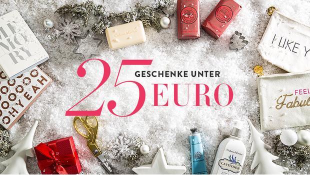 Geschenke unter 25 Euro